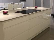 Amazing new quartz worktop fitted