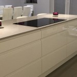 Amazing new quartz worktop fitted